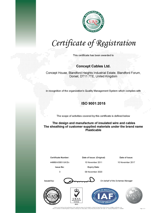 ISO Cert Iss3 a9933
